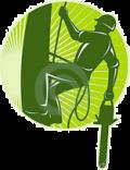 Toldi György - Profi favágó alpin technikával logója